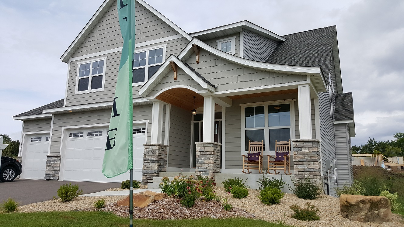 model home for sale in the woods of wassermann lake move to victoria mn